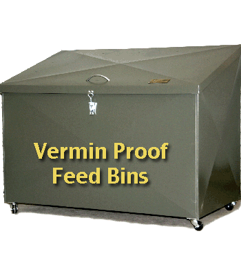 Hayshed Australia Feed Bins  sc 1 th 240 : rodent proof storage containers  - Aquiesqueretaro.Com